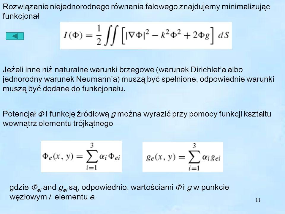 Funkcjonał równania falowego