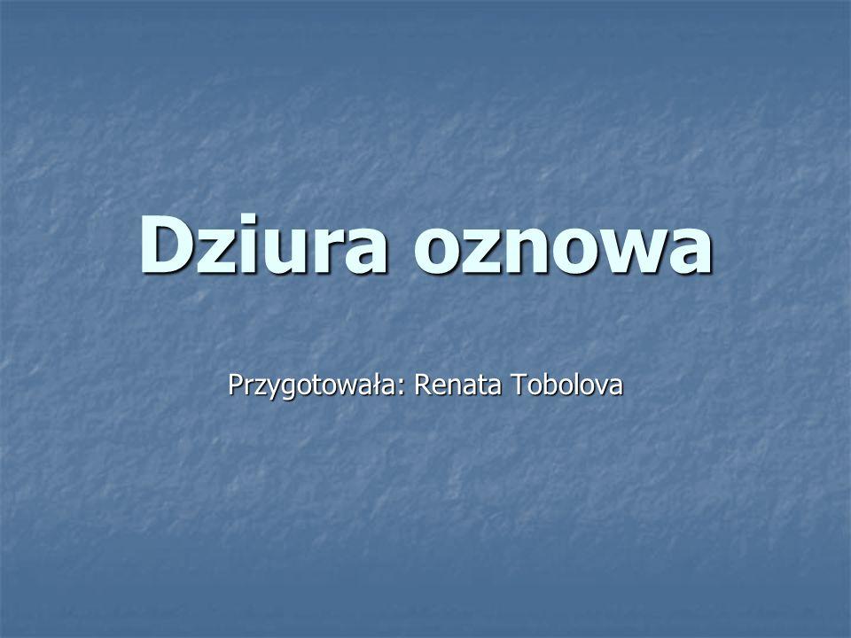 Przygotowała: Renata Tobolova