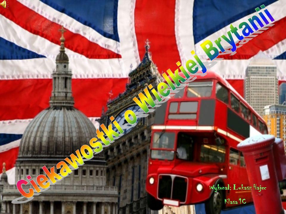 Ciekawostki o Wielkiej Brytanii