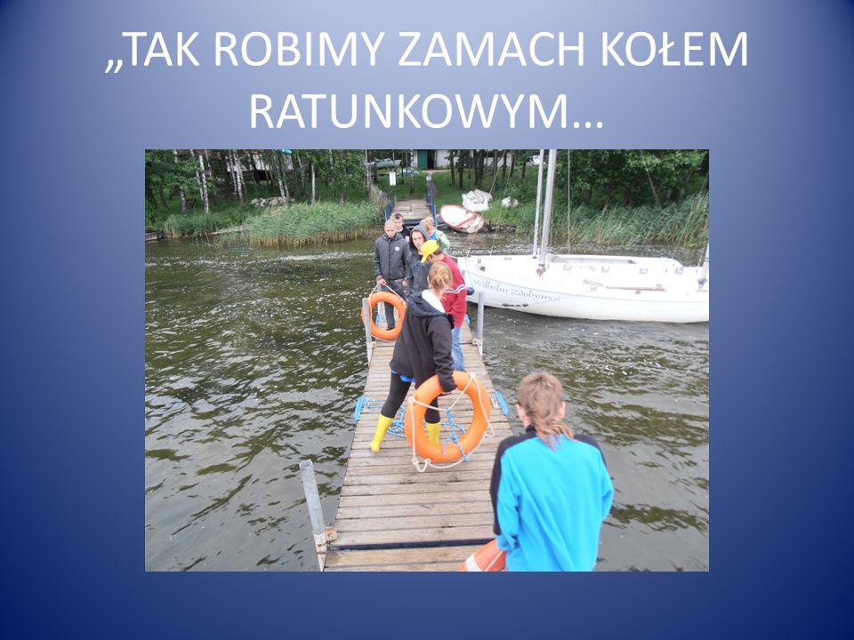 """""""TAK ROBIMY ZAMACH KOŁEM RATUNKOWYM…"""