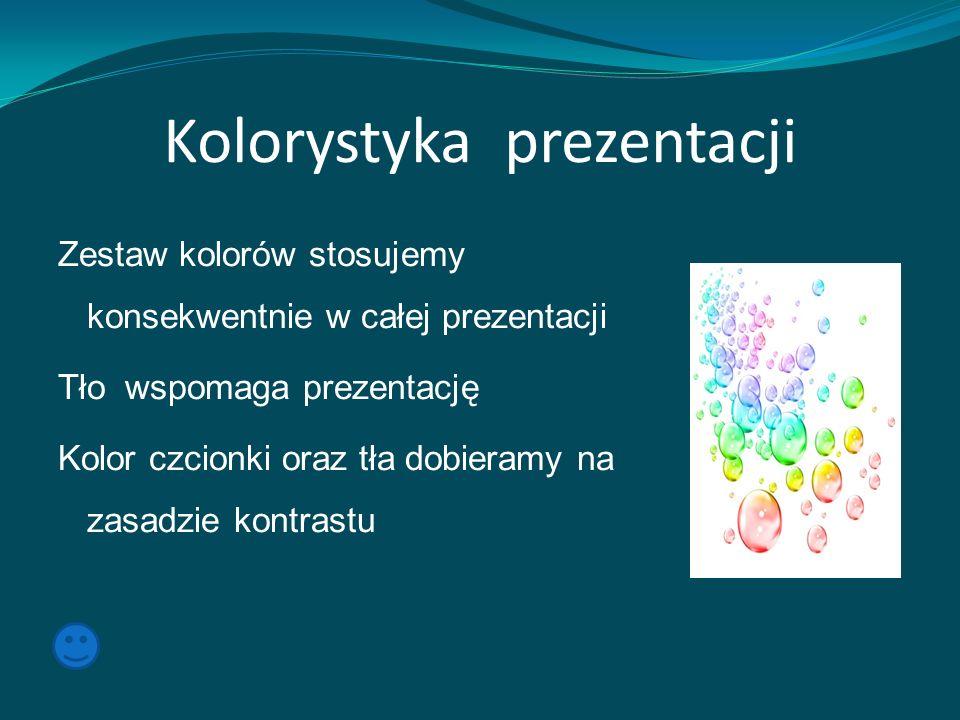 Kolorystyka prezentacji