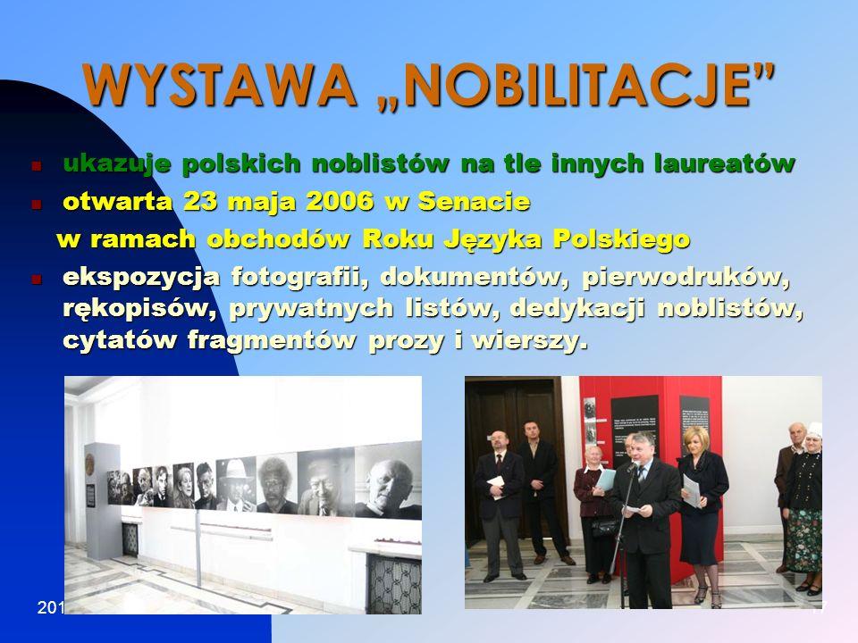 """WYSTAWA """"NOBILITACJE"""