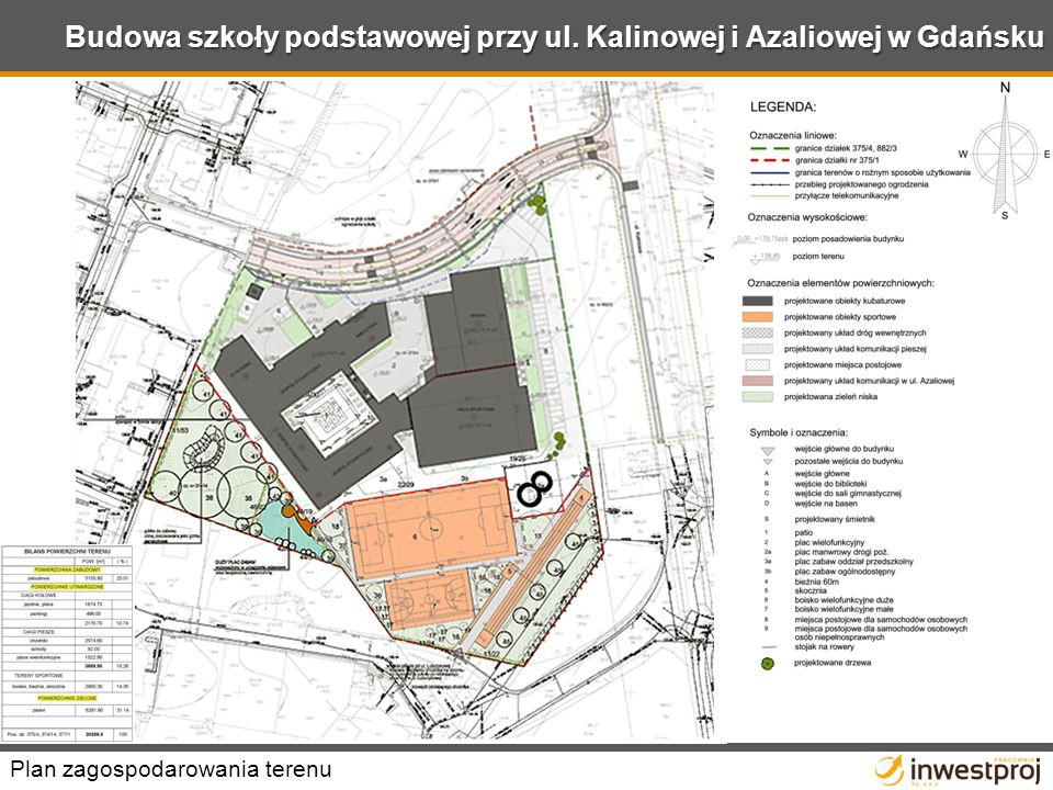 Budowa szkoły podstawowej przy ul. Kalinowej i Azaliowej w Gdańsku