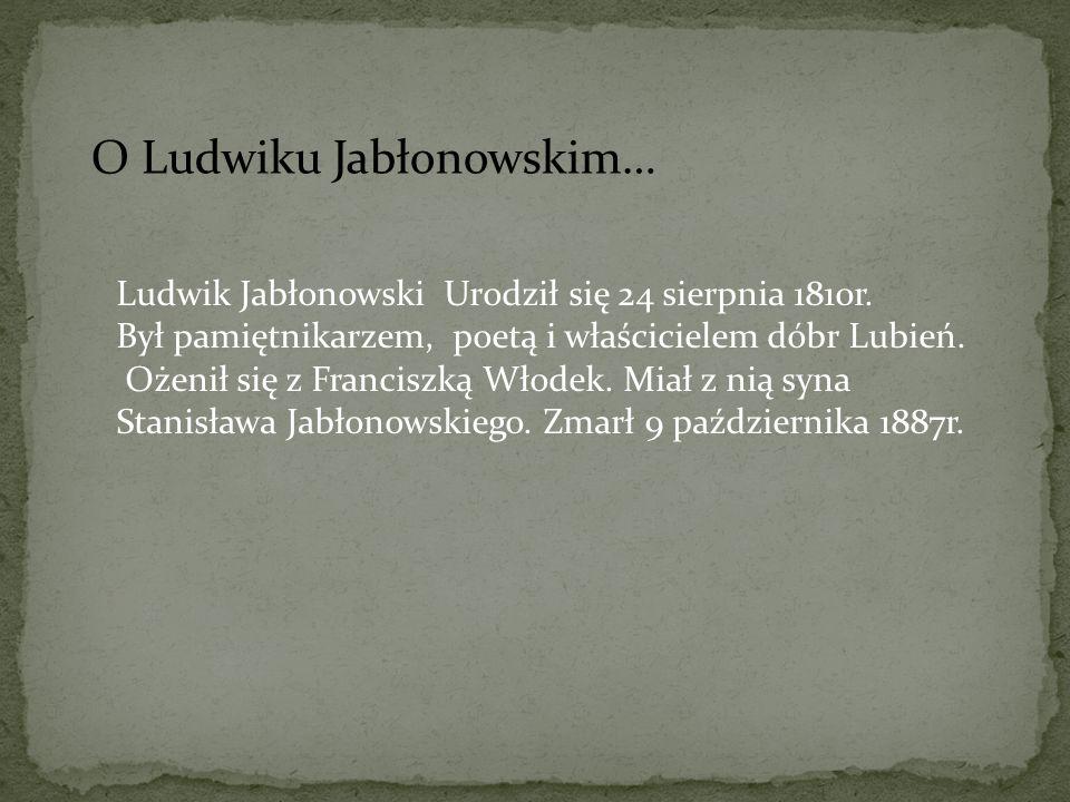 O Ludwiku Jabłonowskim…