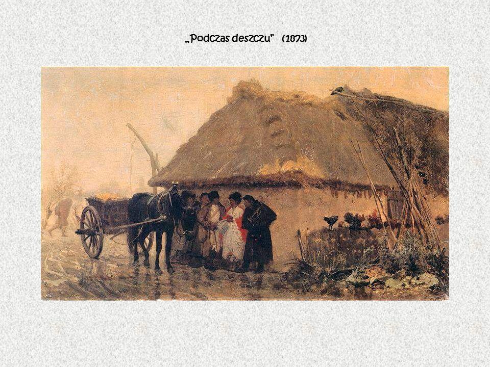 """""""Podczas deszczu (1873)"""