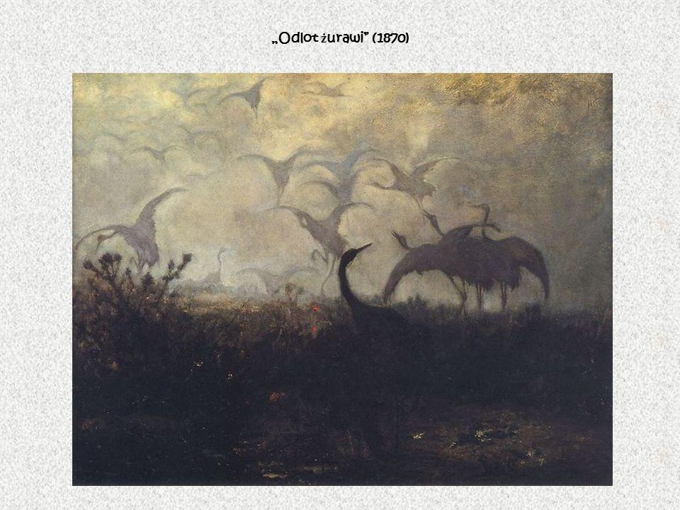 """""""Odlot żurawi (1870)"""