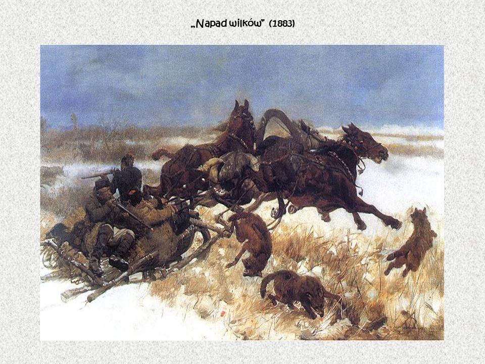 """""""Napad wilków (1883)"""