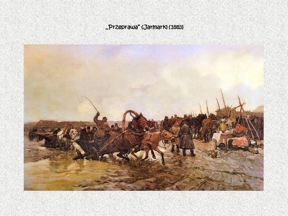"""""""Przeprawa (Jarmark) (1883)"""