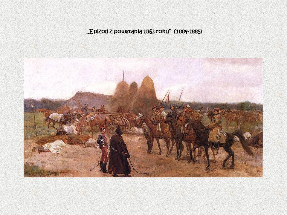 """""""Epizod z powstania 1863 roku (1884-1885)"""