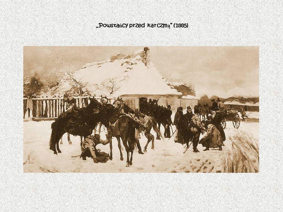"""""""Powstańcy przed karczmą (1885)"""