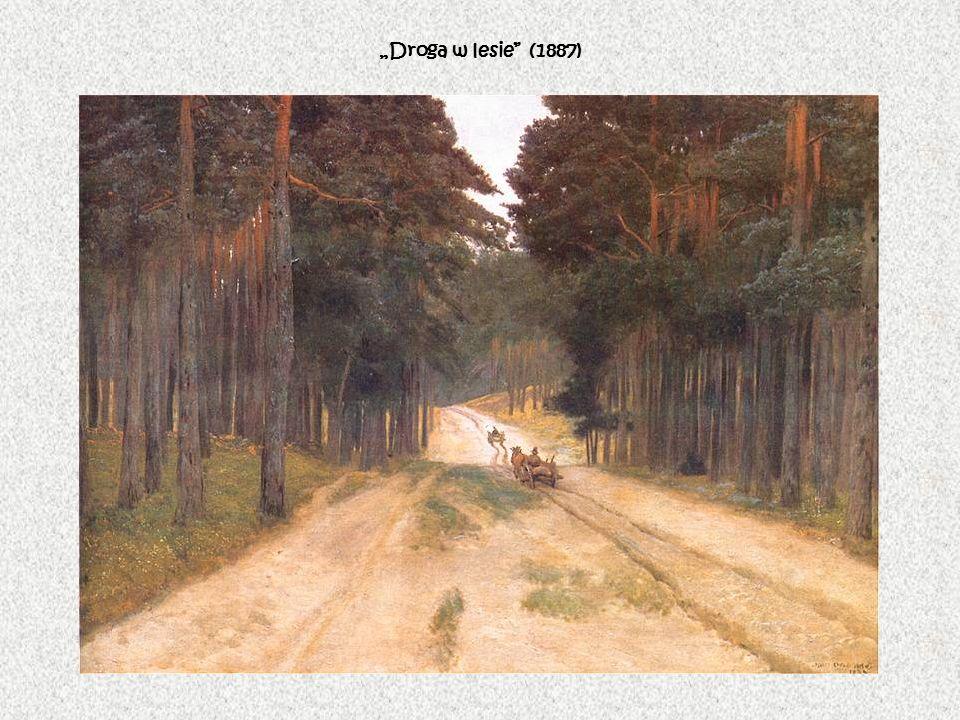 """Droga w lesie (1887)"