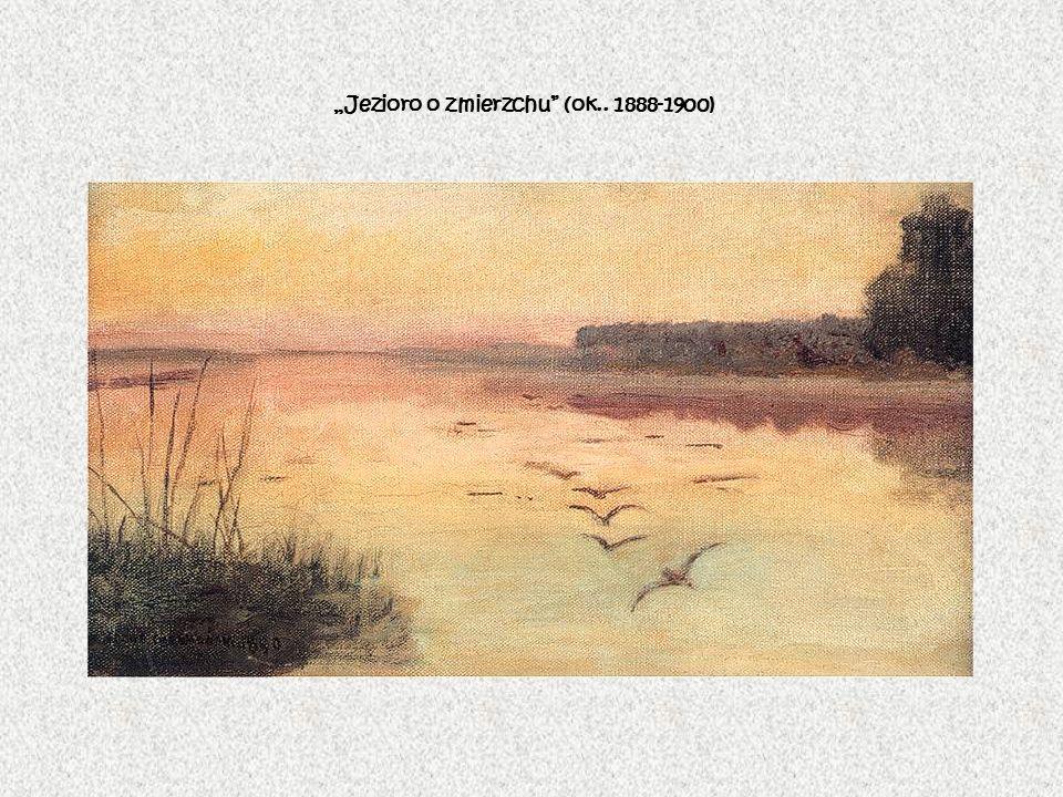 """""""Jezioro o zmierzchu (ok.. 1888-1900)"""