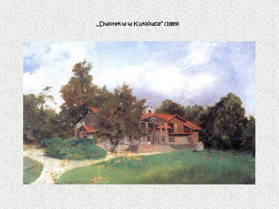 """""""Dworek w w Kuklówce (1889)"""