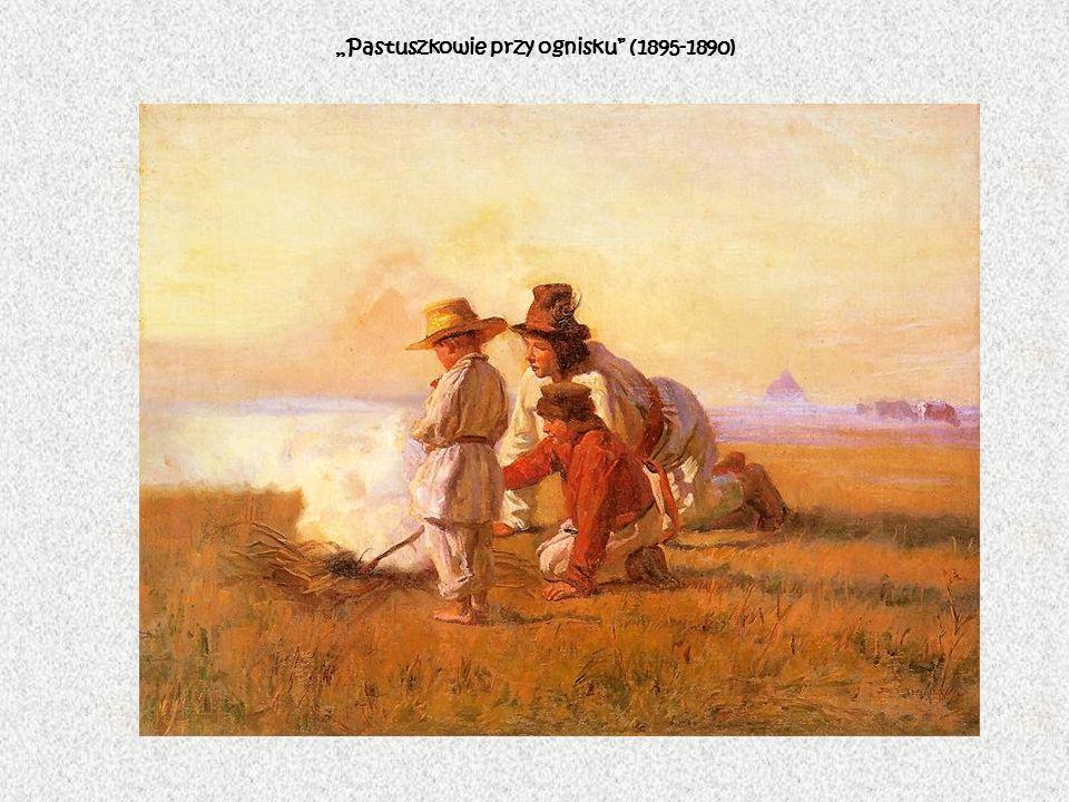 """""""Pastuszkowie przy ognisku (1895-1890)"""