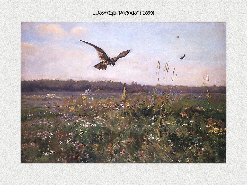 """""""Jastrząb. Pogoda ( 1899)"""