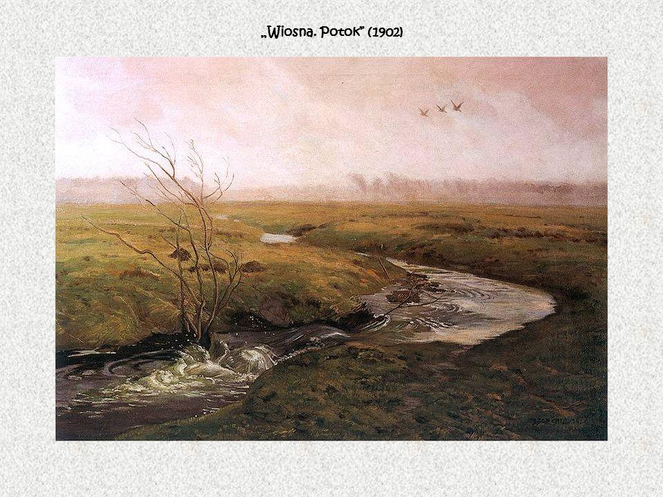 """""""Wiosna. Potok (1902)"""