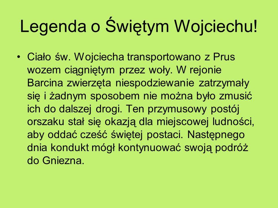 Legenda o Świętym Wojciechu!