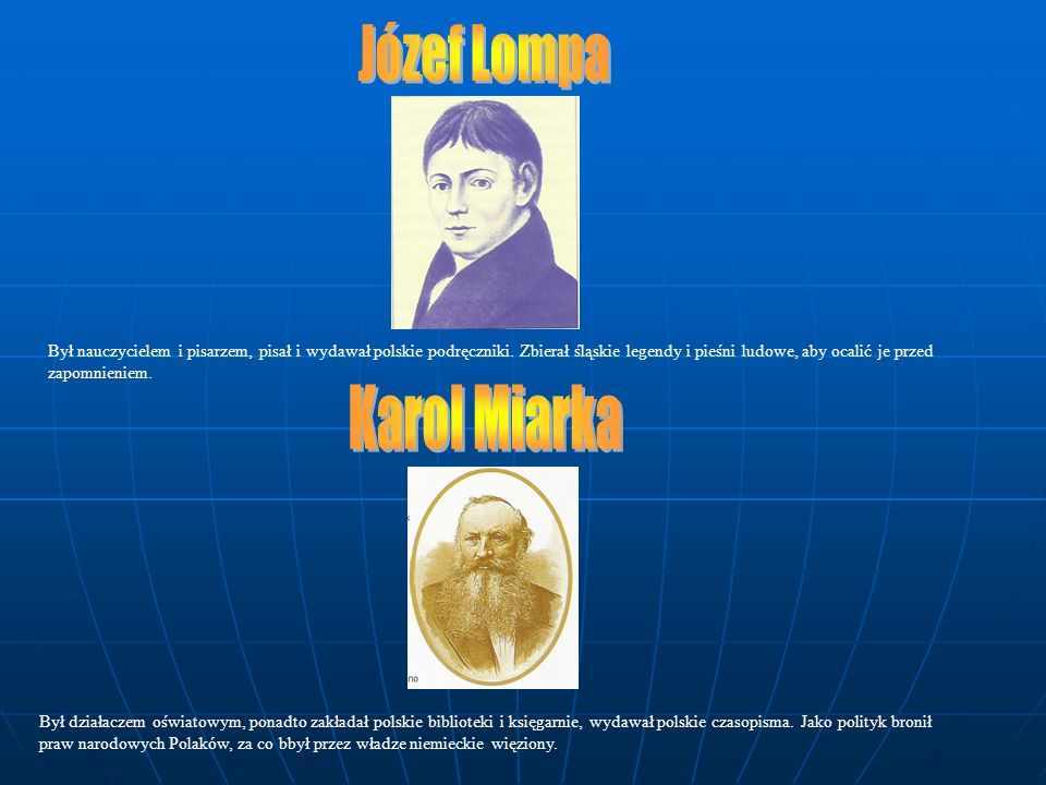 Józef Lompa Karol Miarka