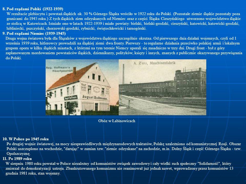 8. Pod rządami Polski (1922-1939)