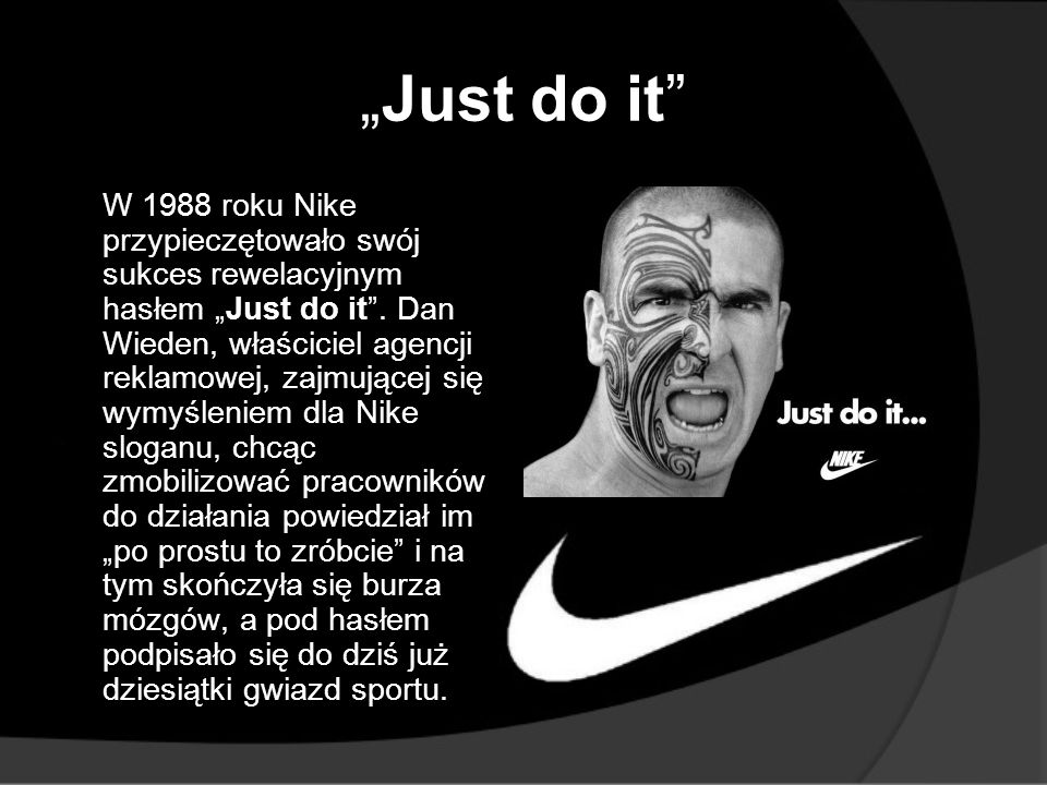 """Just do it"