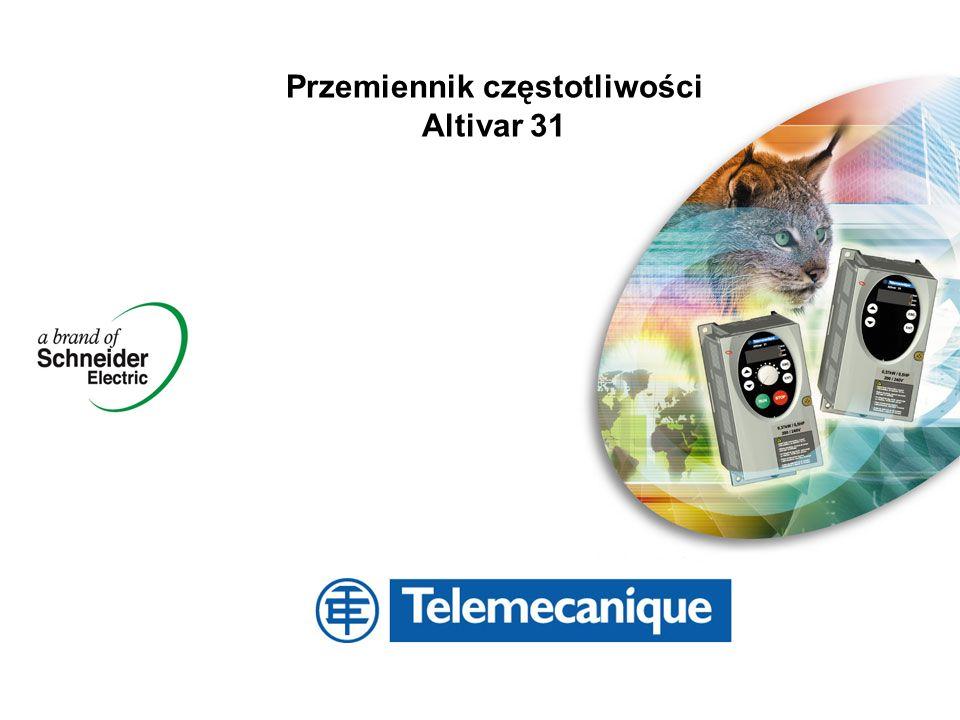 Przemiennik częstotliwości Altivar 31