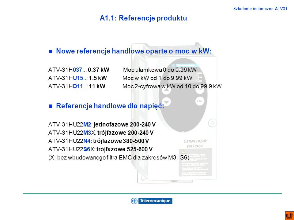 A1.1: Referencje produktu