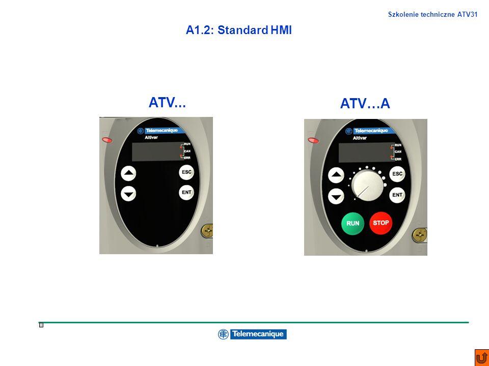 A1.2: Standard HMI ATV... ATV…A .
