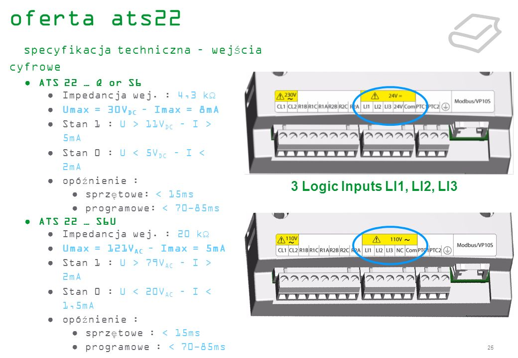 oferta ats22 specyfikacja techniczna – wejścia cyfrowe