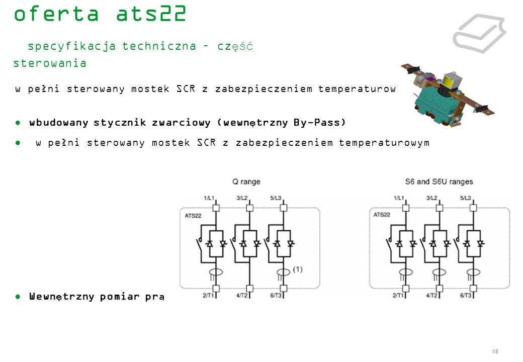 oferta ats22 specyfikacja techniczna – część sterowania