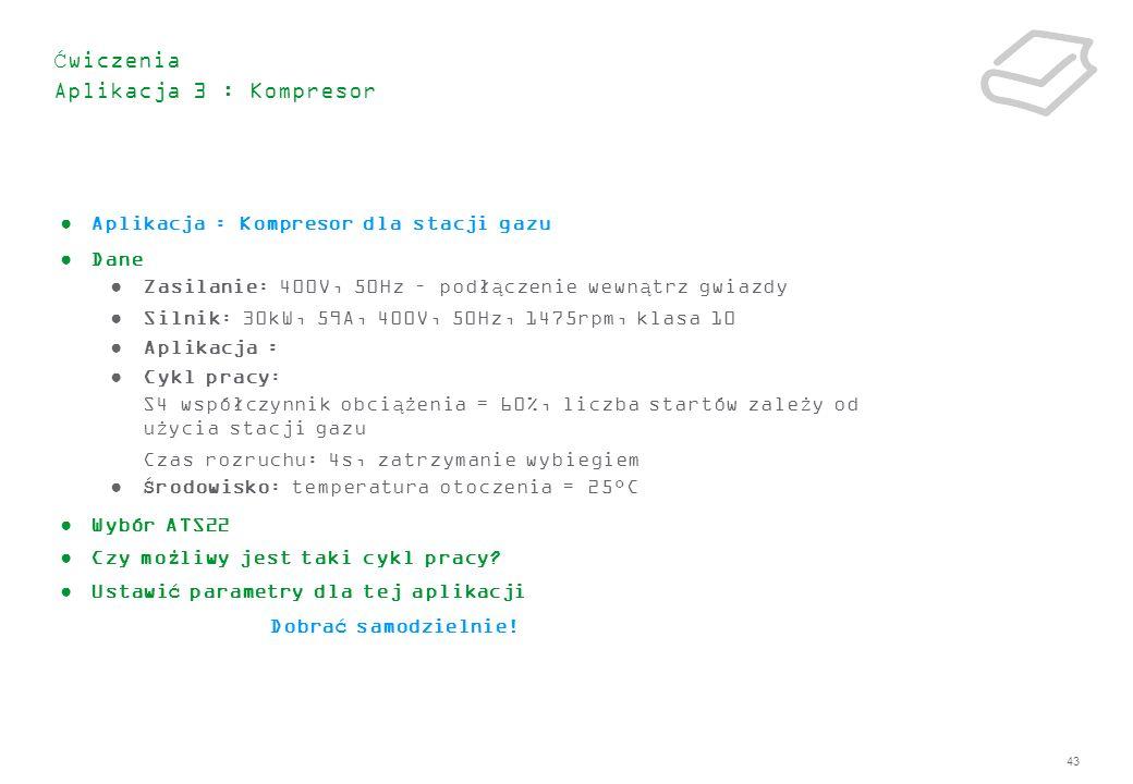 Ćwiczenia Aplikacja 3 : Kompresor