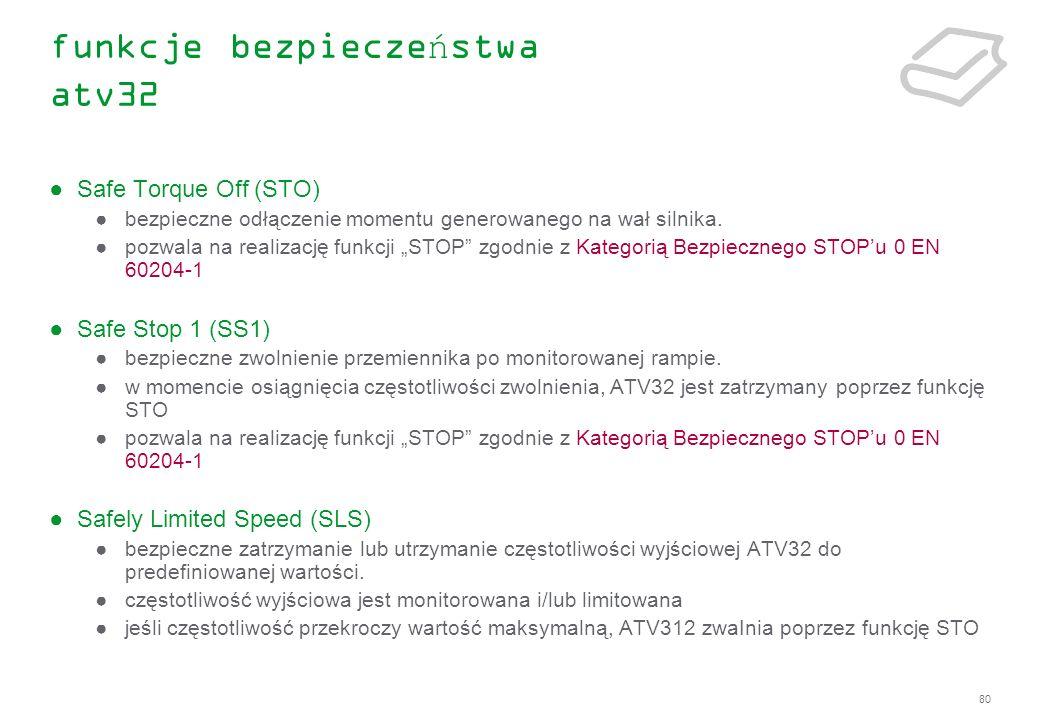 funkcje bezpieczeństwa atv32