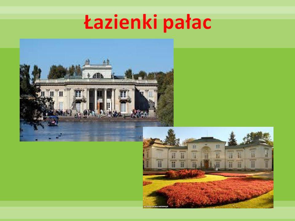 Łazienki pałac