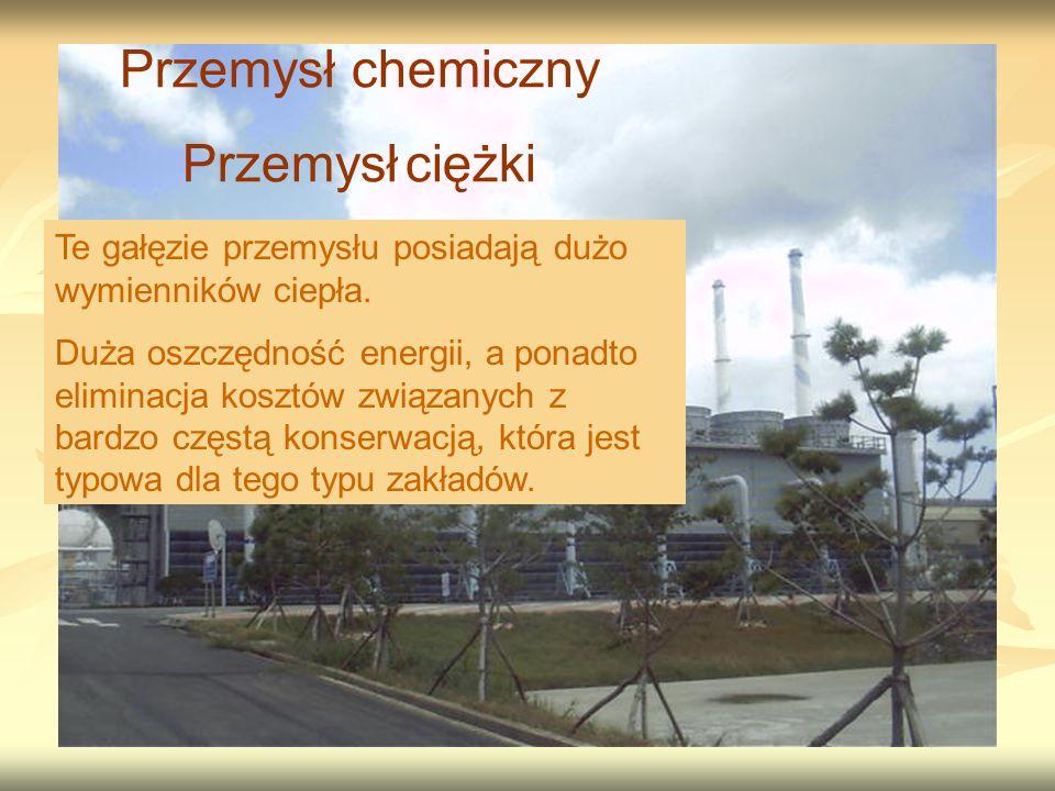 Przemysł chemiczny Przemysł ciężki