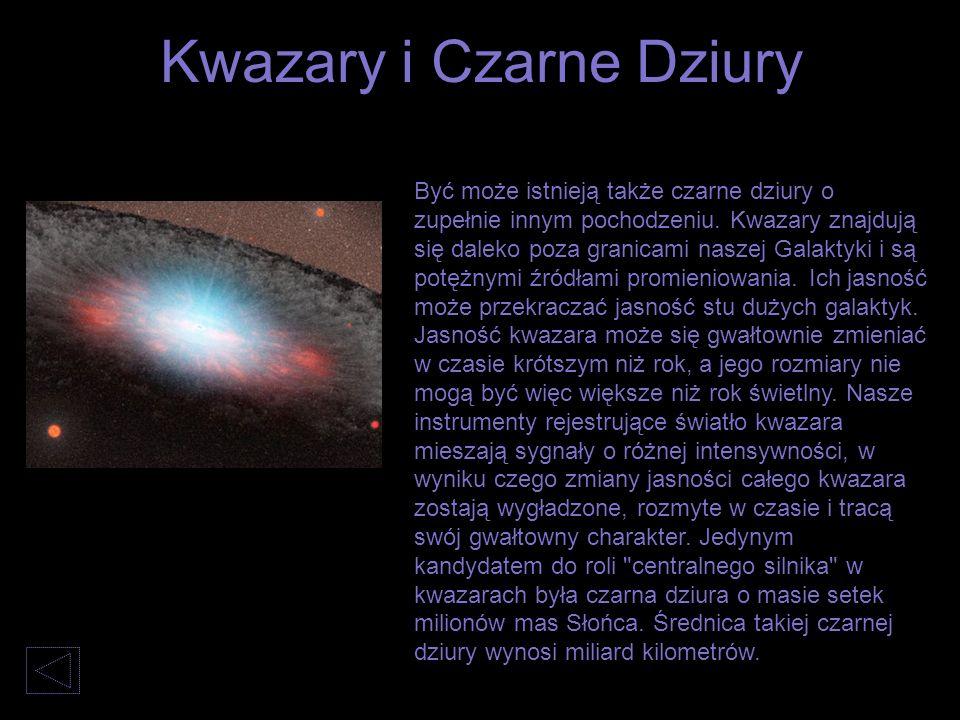 Kwazary i Czarne Dziury