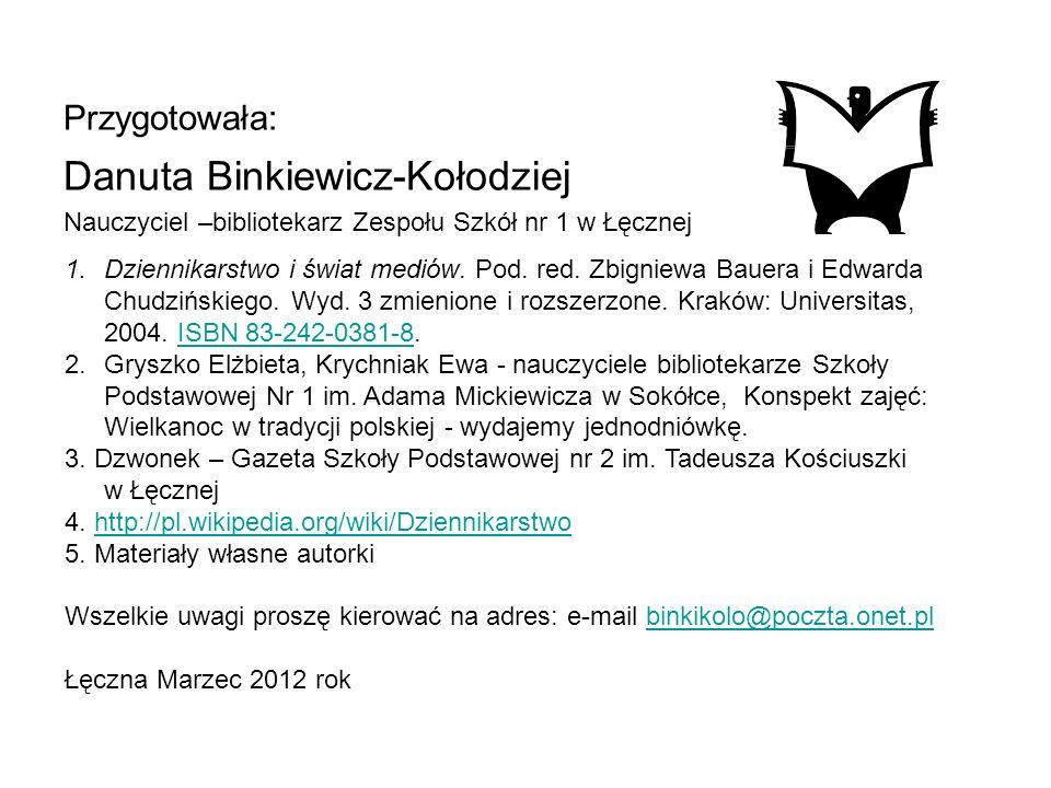 Danuta Binkiewicz-Kołodziej