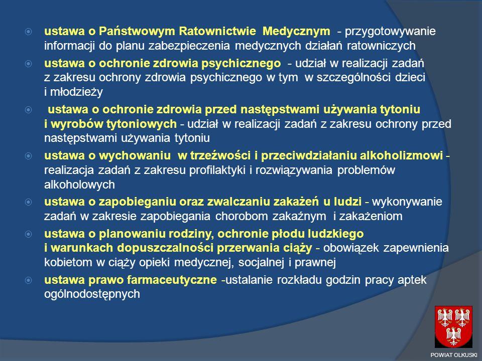 ustawa o Państwowym Ratownictwie Medycznym - przygotowywanie informacji do planu zabezpieczenia medycznych działań ratowniczych
