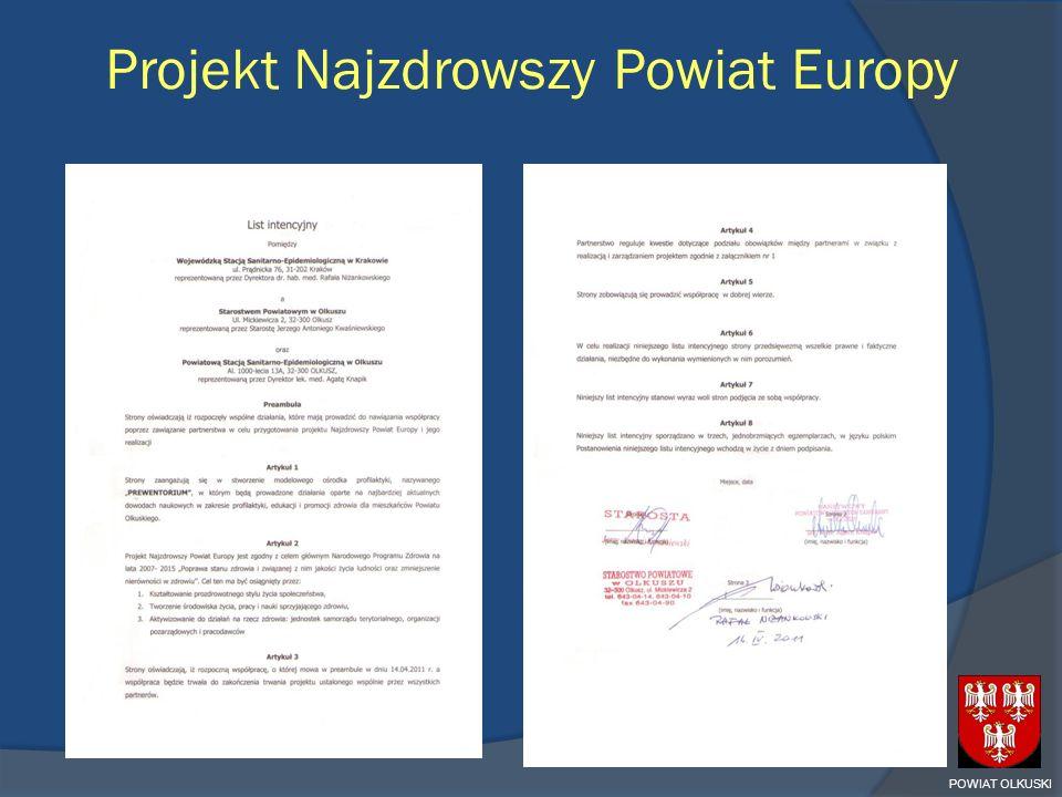 Projekt Najzdrowszy Powiat Europy