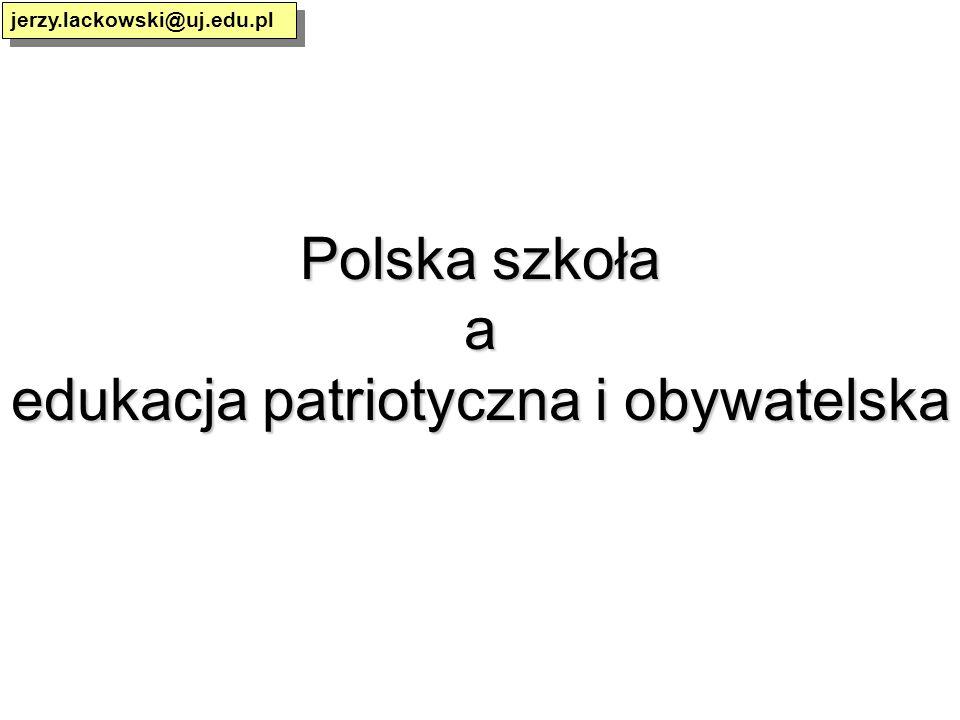 edukacja patriotyczna i obywatelska
