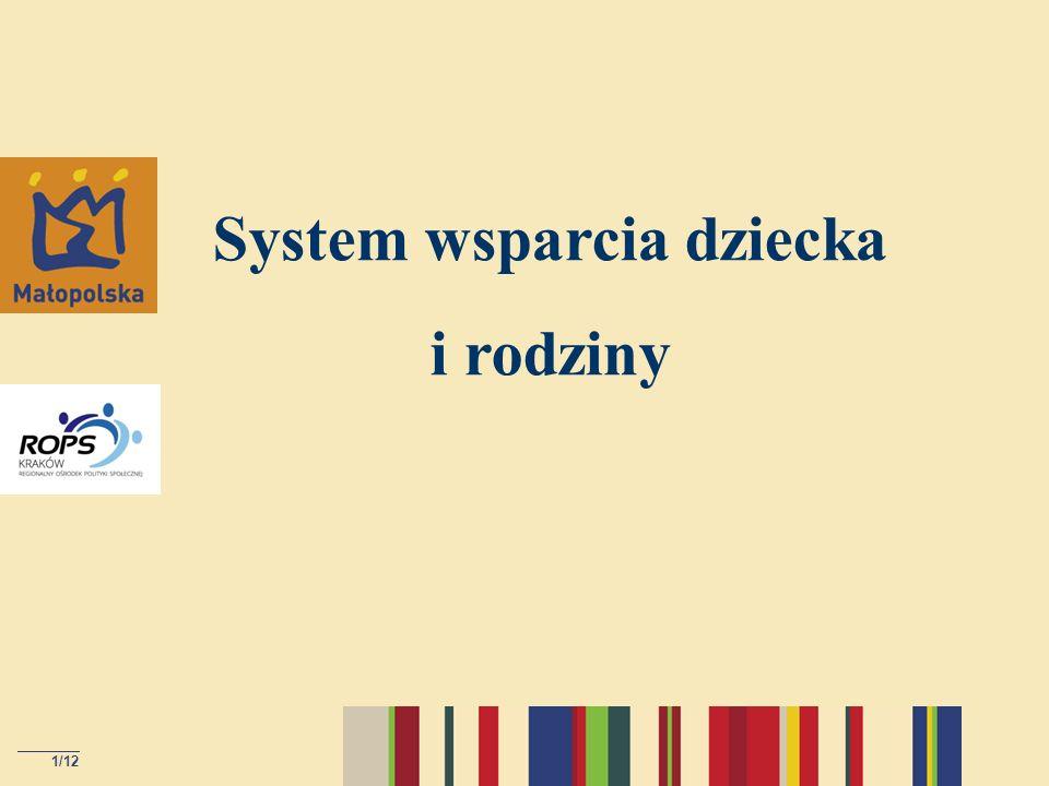 System wsparcia dziecka i rodziny