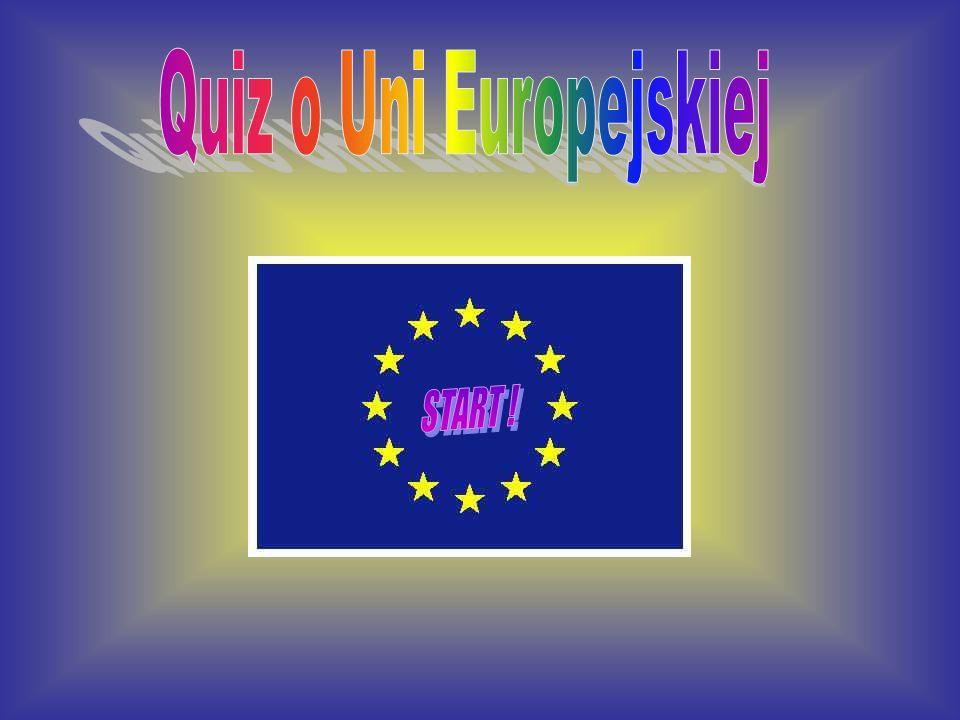 Quiz o Uni Europejskiej