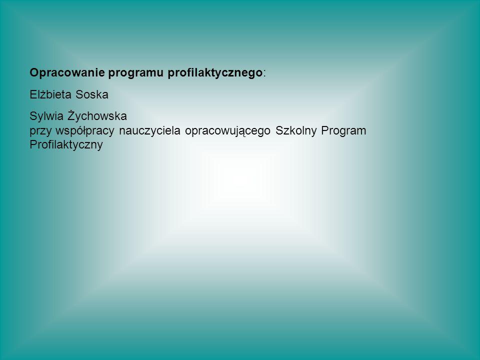 Opracowanie programu profilaktycznego: