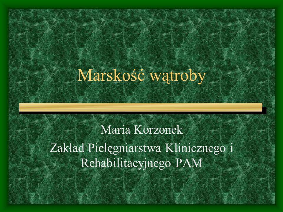 Zakład Pielęgniarstwa Klinicznego i Rehabilitacyjnego PAM