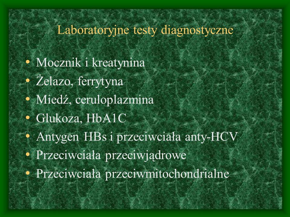 Laboratoryjne testy diagnostyczne