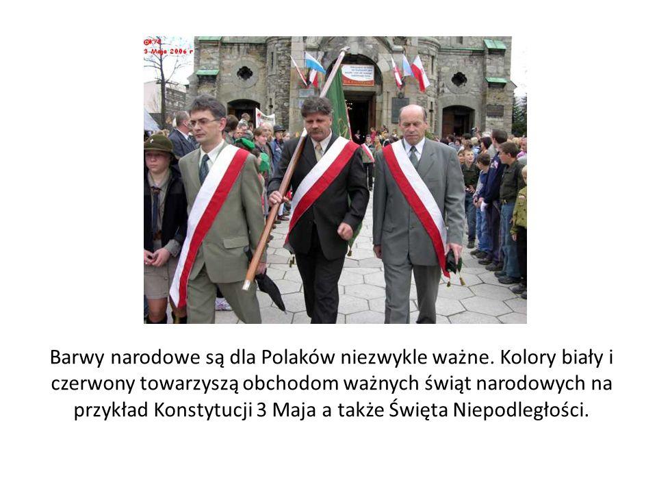 Barwy narodowe są dla Polaków niezwykle ważne