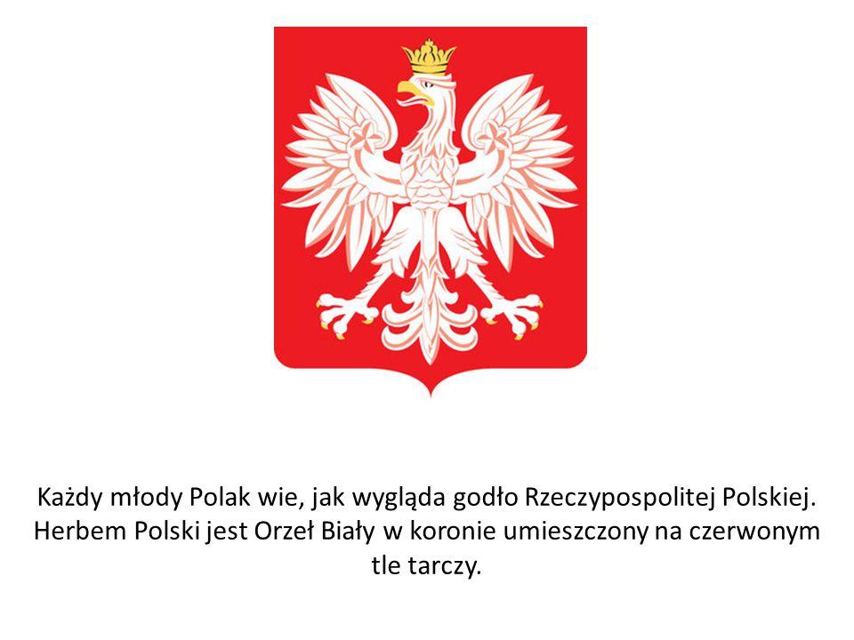 Każdy młody Polak wie, jak wygląda godło Rzeczypospolitej Polskiej
