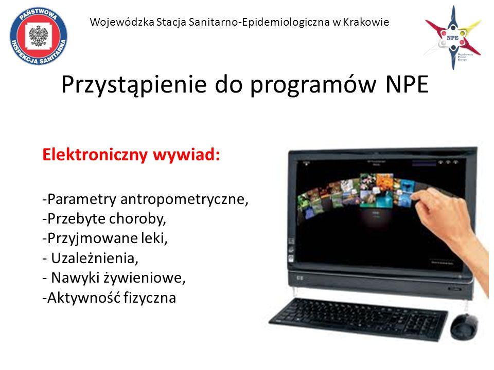 Przystąpienie do programów NPE