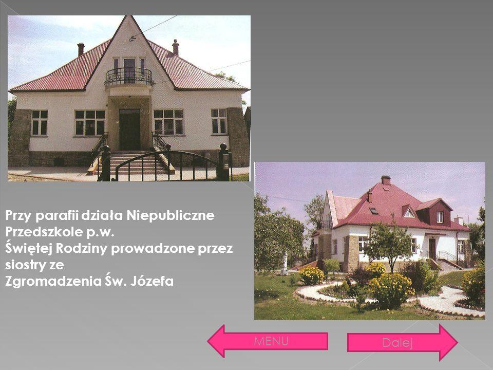 Przy parafii działa Niepubliczne Przedszkole p.w.