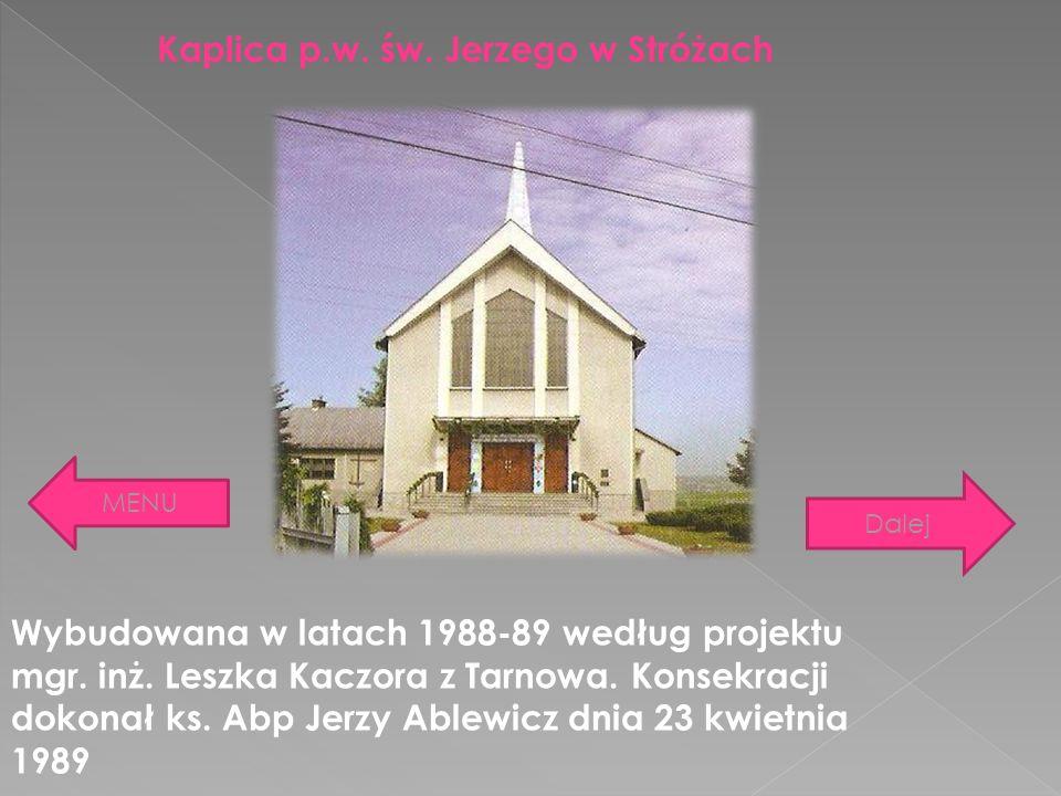 Kaplica p.w. św. Jerzego w Stróżach