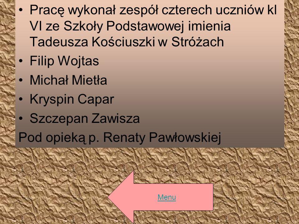 Pod opieką p. Renaty Pawłowskiej