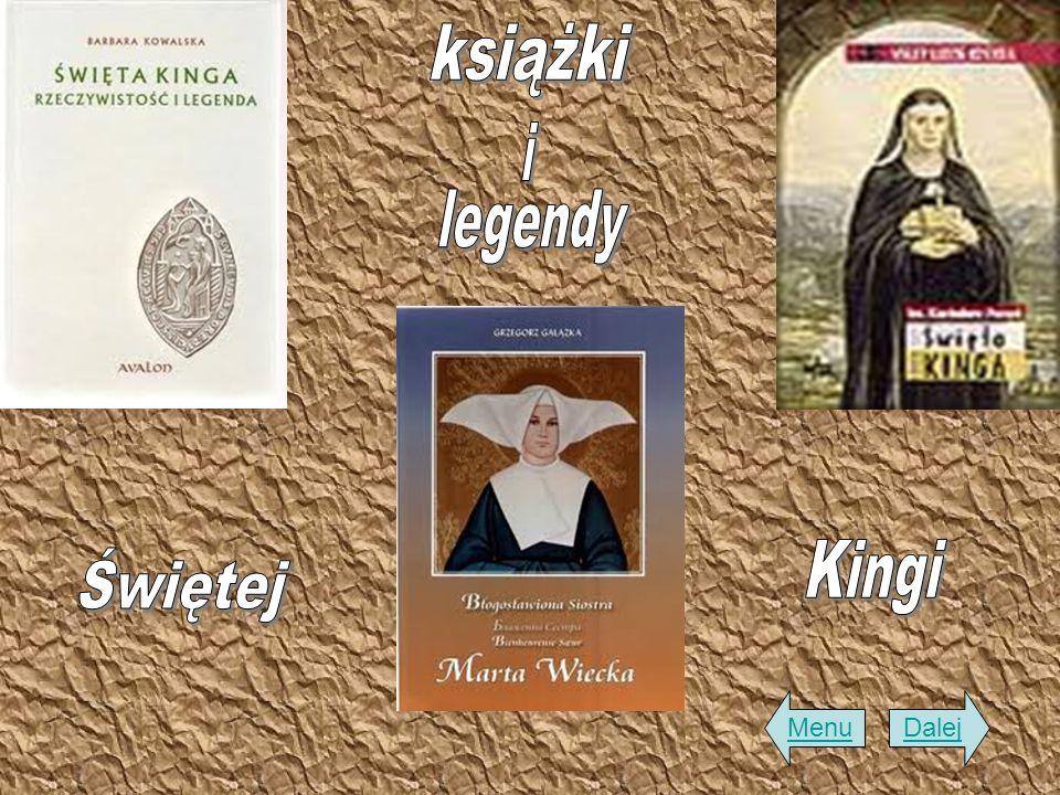 książki i legendy Kingi Świętej Menu Dalej